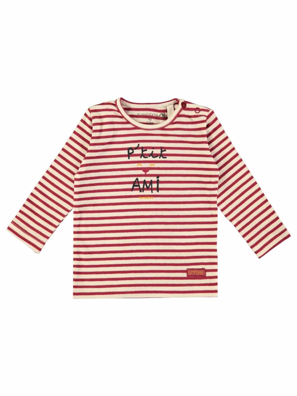 Bampidano Shirt Lange Mouw  - Diverse Kleuren - Katoen/elasthan