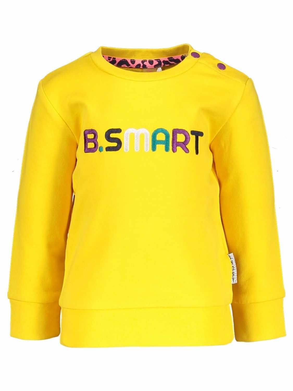 B.Nosy Sweater  - Geel - Katoen/elasthan