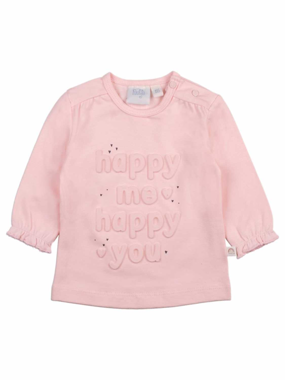 Feetje Shirt Lange Mouw  - Roze - Katoen/elasthan
