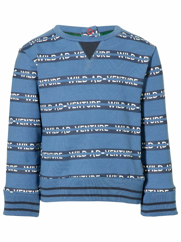 Quapi Sweater  - Blauw - Katoen/elasthan
