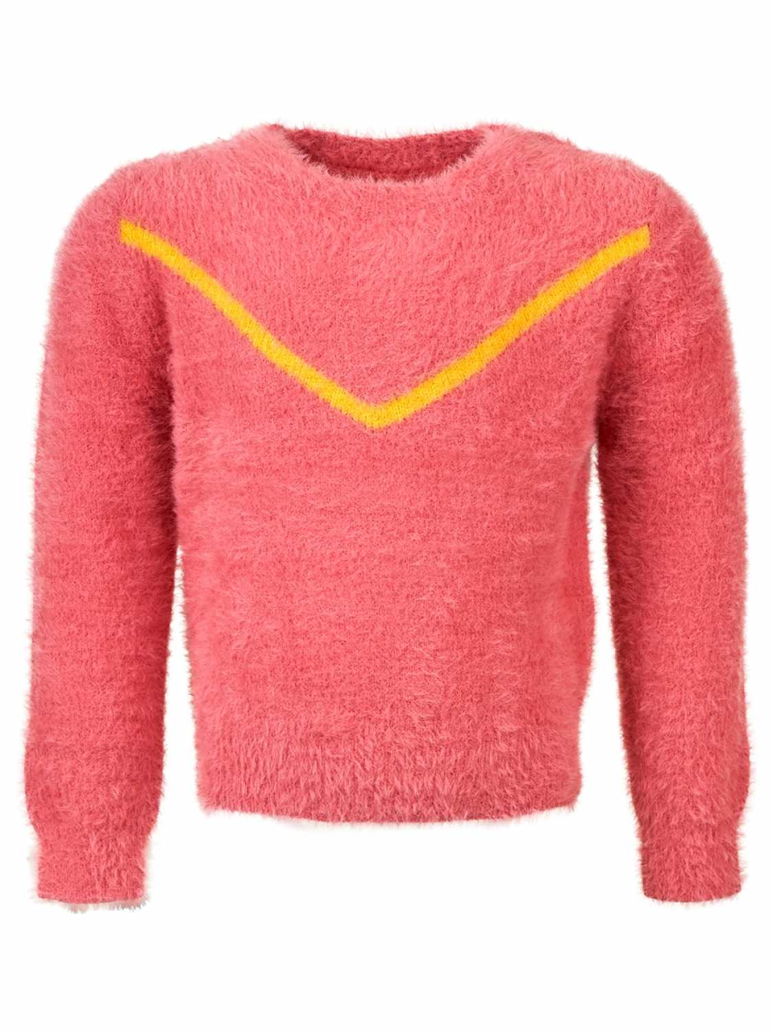 Someone Sweater - meisjes - Roze -