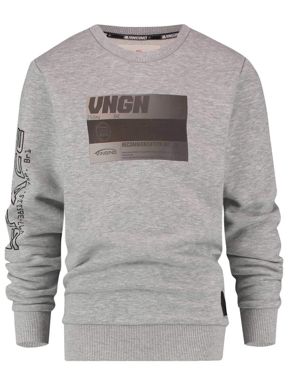 Vingino Sweater - jongens - Grijs -