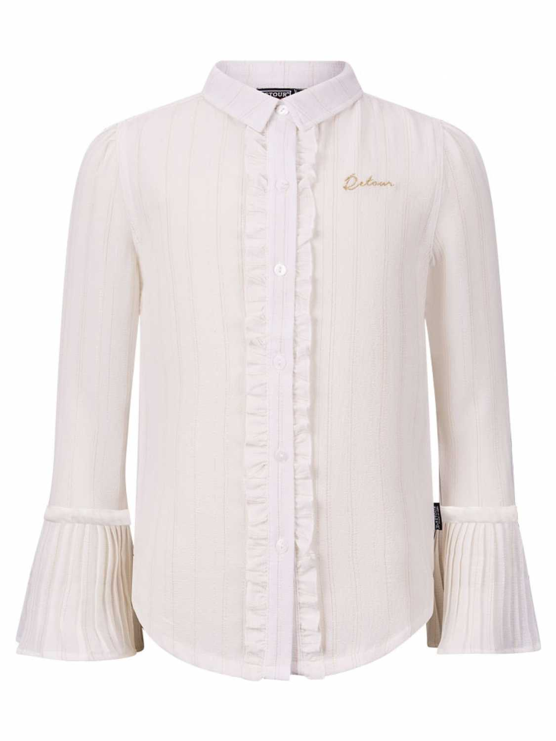 Retour Denim Blouse lange mouw - meisjes - Off White -