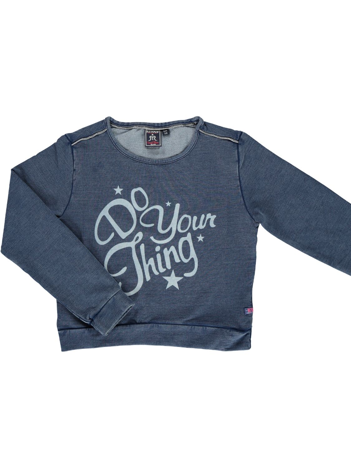 Retour Denim Sweater