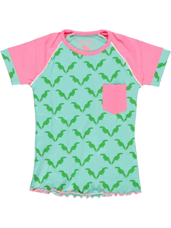 Birds Shirt korte mouw