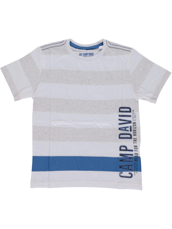 Camp David Shirt korte mouw