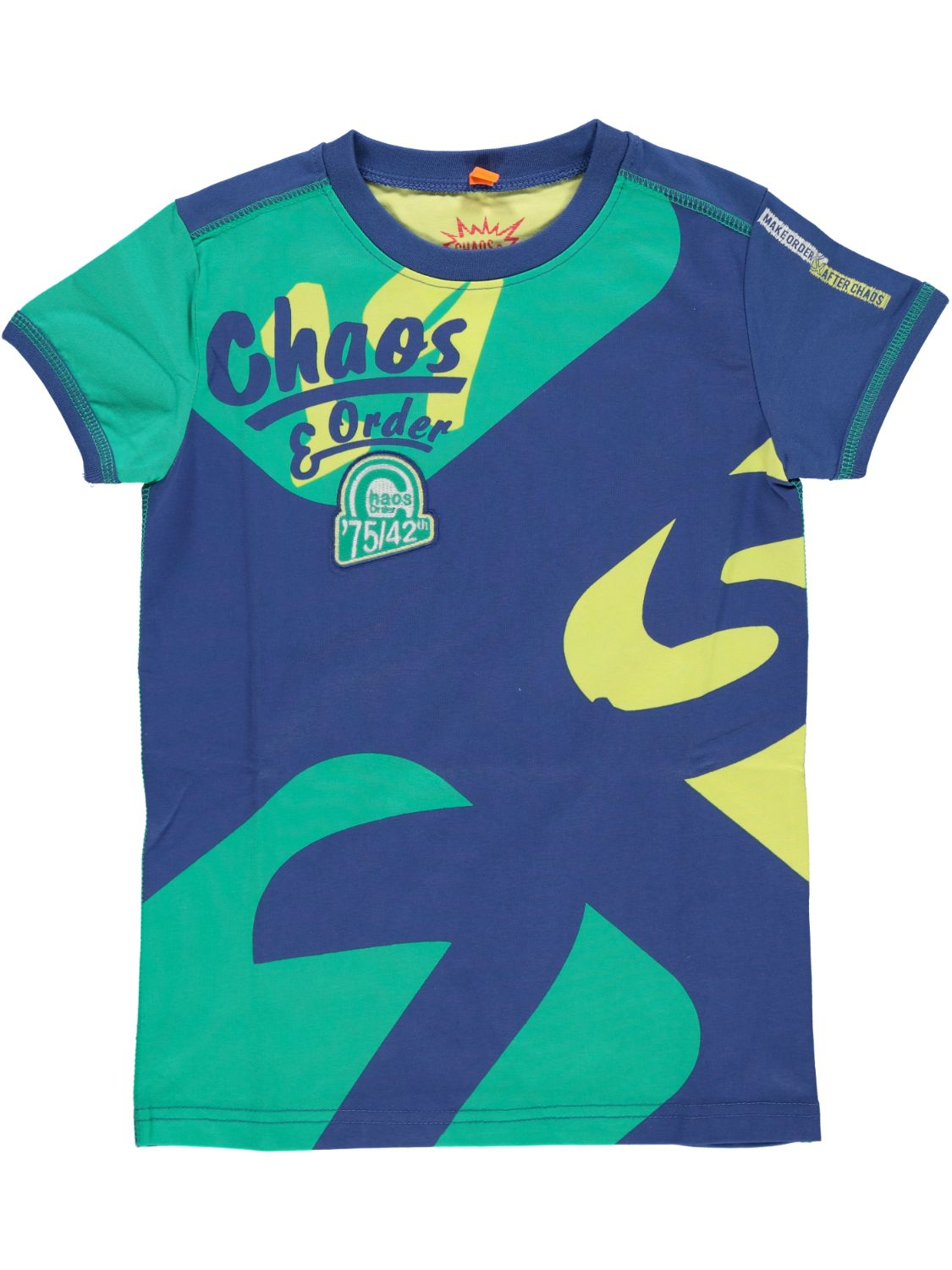 Chaos and Order Shirt korte mouw