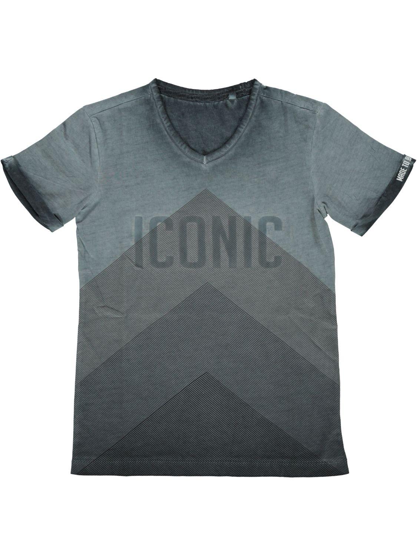 Crush Denim Shirt korte mouw