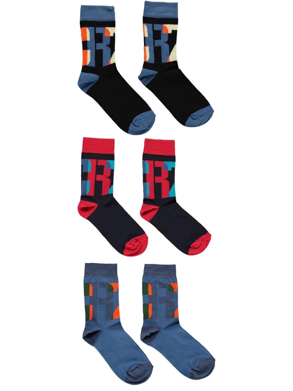 CR7 Cristiano Ronaldo 3-pack sokken