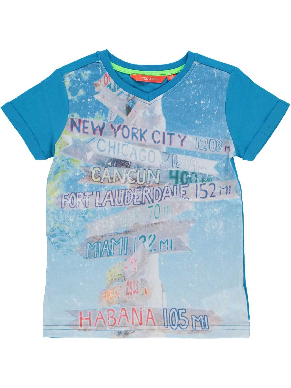 Tygo Vito Shirt korte mouw