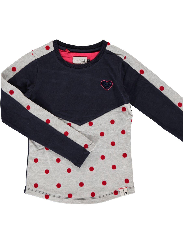 LOOXS Shirt lange mouw