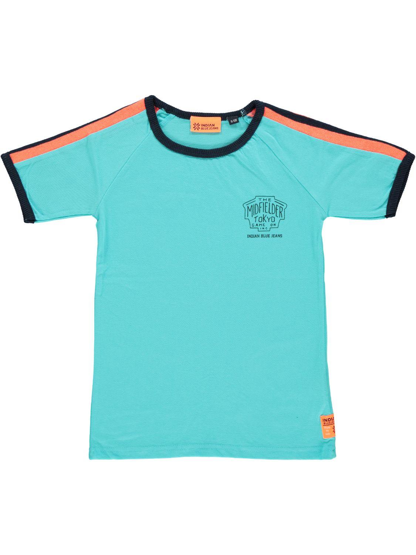 Indian Blue Jeans Shirt korte mouw