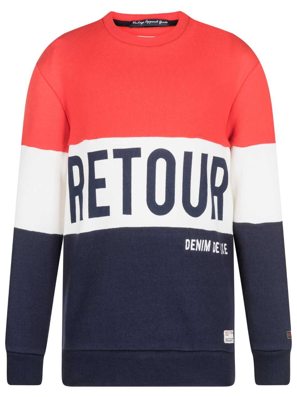 Retour Denim Sweater