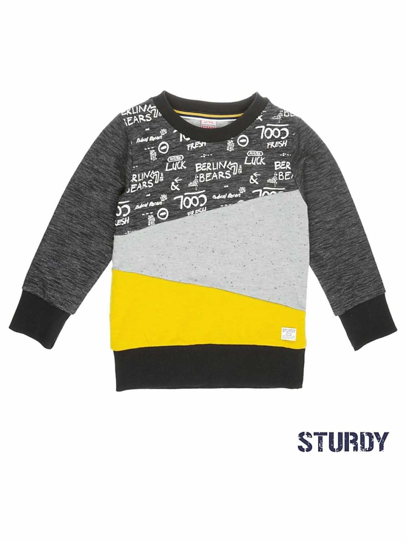 a0ea1b66467 Sturdy Sweater jongenskleding 71600265 Anthracite | Kinderkleding ...