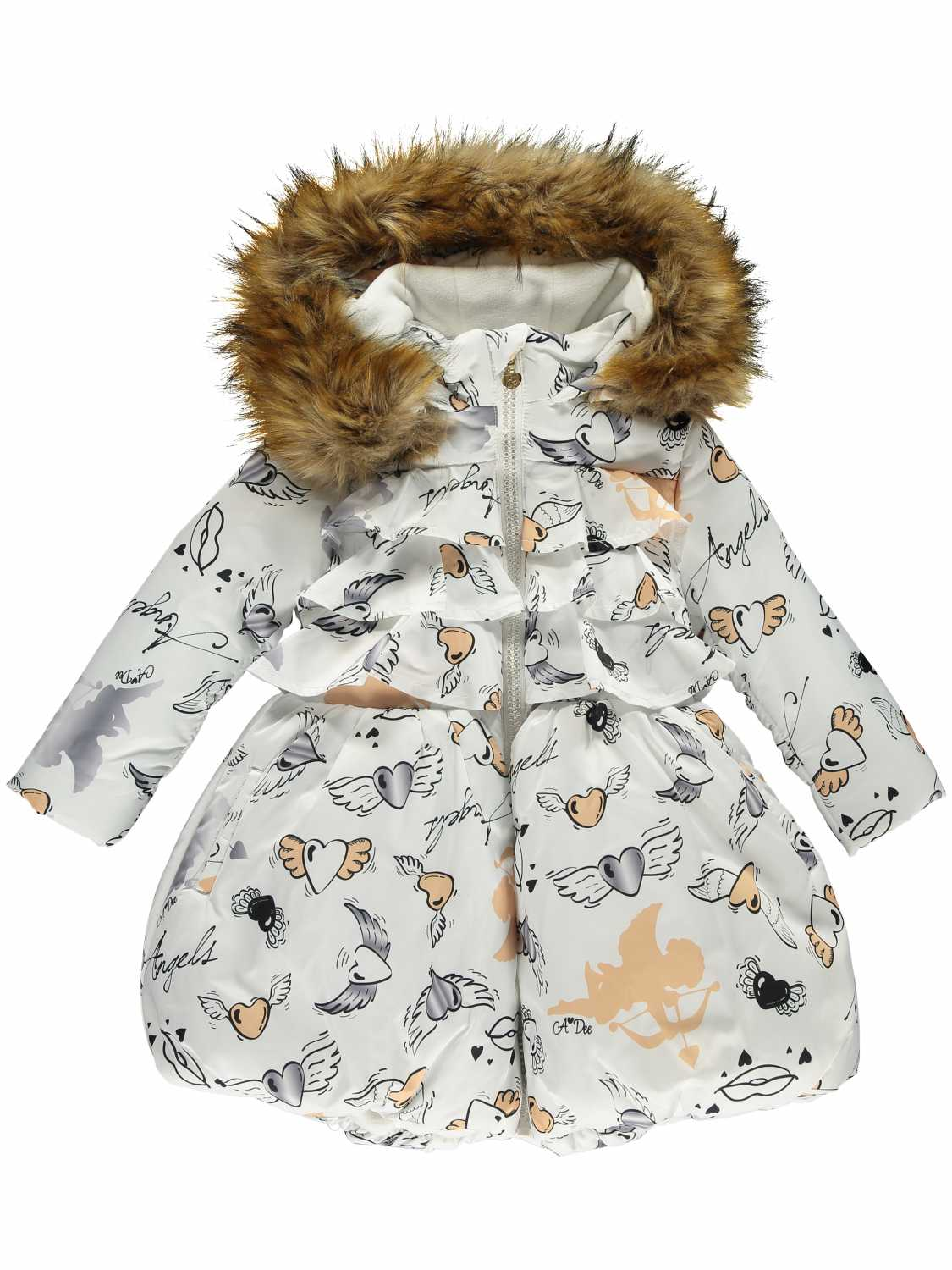 Ariana Dee Winterjas - meisjes - All over print -