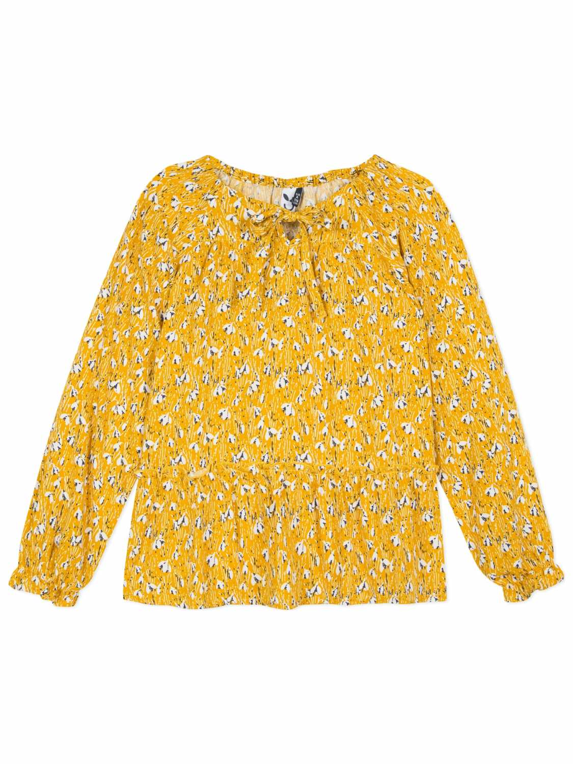 3pommes Shirt lange mouw - meisjes - All over print -