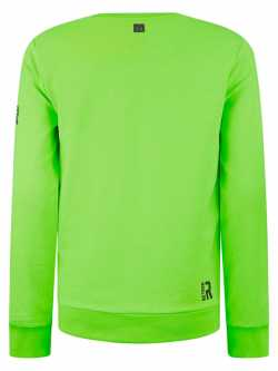 Retour Denim Sweater - jongens - Lime - achterkant