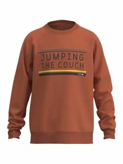 Sweater Jumping the Couch